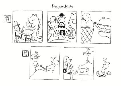 Dragon Mum, comic, 2014