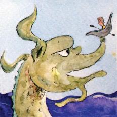 Sea Monster – Medieval Bestiary, 2016