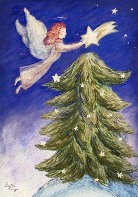 Christmas card, II, 2016