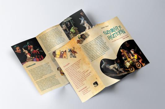 Broschure design, Puppet theatre performance