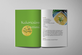 Editorial design, Recipes from the world, 2015, III