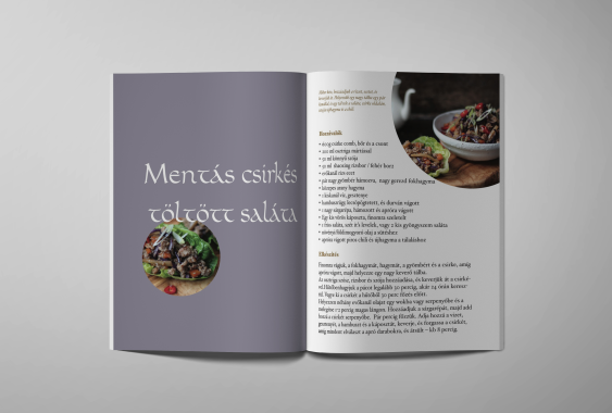 Editorial design, Recipes from the world, 2015