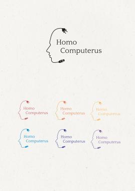 Logo design, Homo Computerus 2014