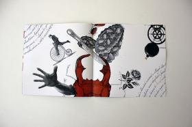 Neo-dadaist book design, Lajos Kassák 2016