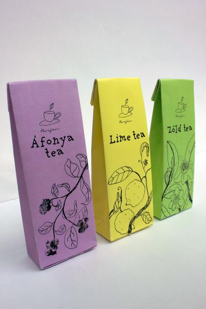 Tea package design, 2015, III