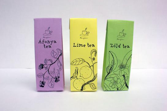 Tea package design, 2015